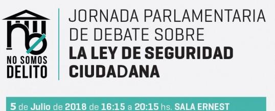 """ENLACE apoya la campaña """"No Somos Delito"""" para la derogación de la """"Ley Mordaza"""""""