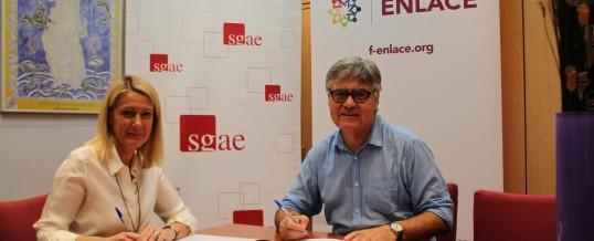 ENLACE firma un convenio de colaboración con SGAE
