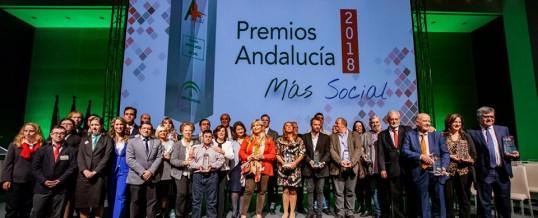 ENLACE recibe el Premio Andalucía + Social 2018
