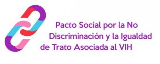 ENLACE se adhiere al Pacto Social por la No Discriminación y la Igualdad de Trato asociada al VIH