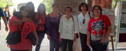 Mujeres del Programa OLA en la II Feria de Empleo