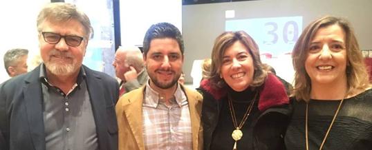 ENLACE, MADINAT y ADEAT reciben un reconocimiento por su trabajo con personas drogodependientes en Córdoba