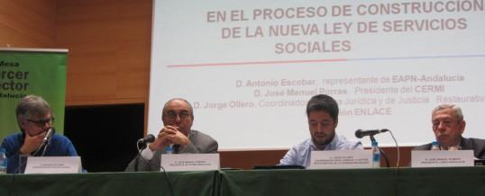 Acto sobre la participación del Tercer Sector en la nueva Ley de Servicios Sociales de Andalucía
