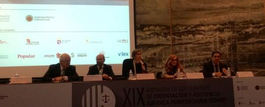 Celebradas las XIX Jornadas de Servicios de Orientación Jurídica Penitenciaria en  León