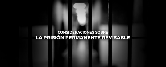 ENLACE se posiciona en el debate de la prisión permanente revisable
