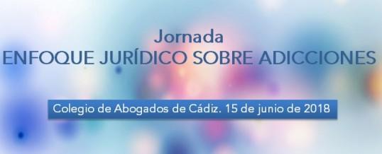 """ENLACE organiza la Jornada """"Enfoque jurídico sobre adicciones"""" que se celebrará en Cádiz el próximo 15 de junio"""