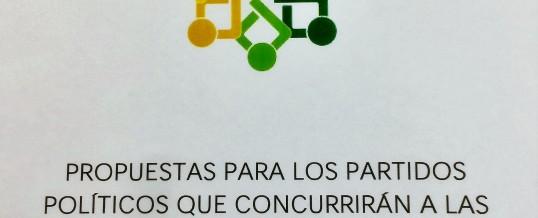ENLACE presenta sus propuestas a los partidos políticos andaluces