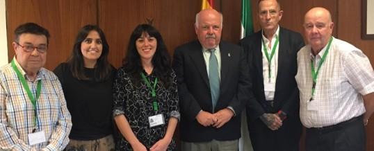 Las Federaciones Andaluzas de Adicciones se reúnen con grupos parlamentarios y el Consejero de Salud y Familias